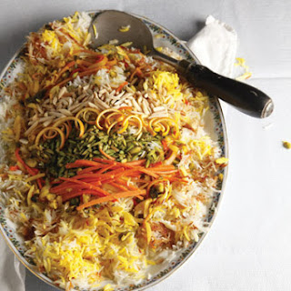 Shirin Polow (Iranian Rice Pilaf).
