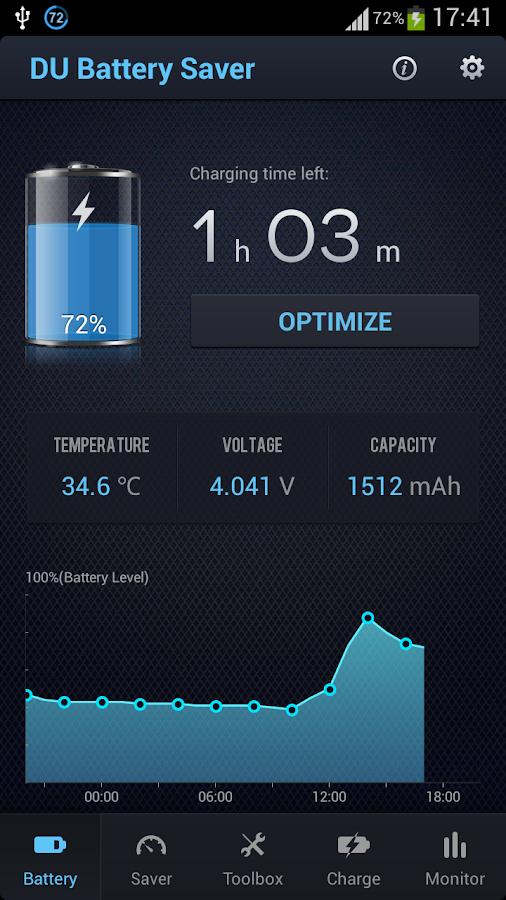 DU Battery Saver PRO & Widgets - screenshot