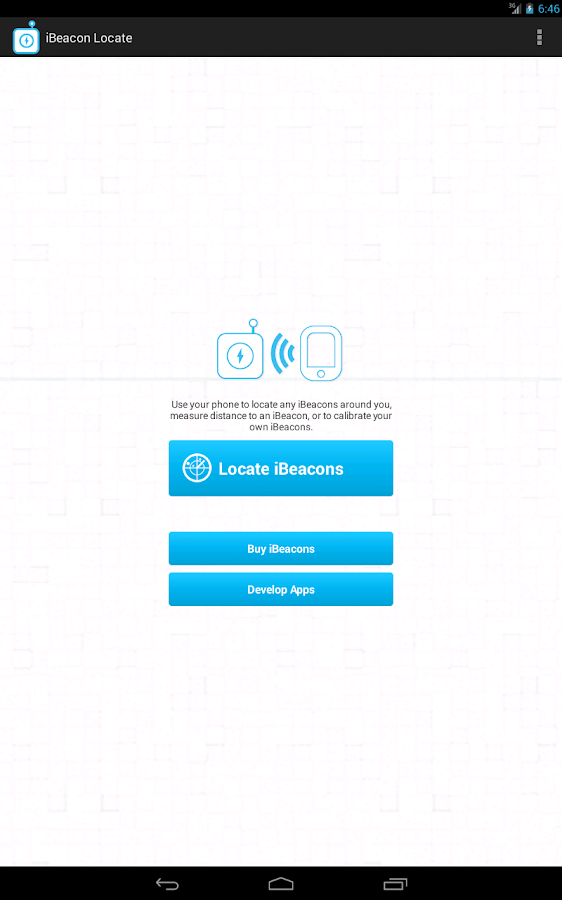 iBeacon Locate - screenshot