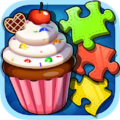 Jigsaw Puzzle Game: Cake Theme