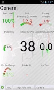 HobDrive OBD2 ELM327, car diagnostics, trip comp- screenshot thumbnail