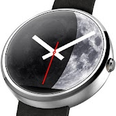 Moon Phase - Analog Watch Face
