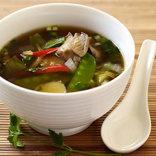 Asian-Inspired Vegetable Soup.