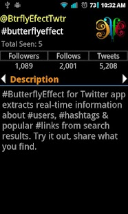 #butterflyEffect- screenshot thumbnail