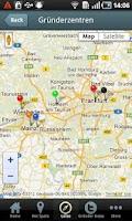 Screenshot of Startup Lotse Frankfurt