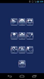 Tha Glassik Square - Icon Pack v3.5