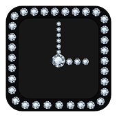 Diamond Clock Widget