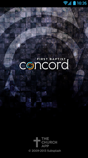First Baptist Concord- screenshot thumbnail