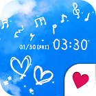 Cute wallpaper★Melody sky icon
