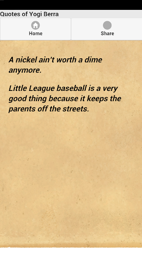 【免費娛樂App】Quotes of Yogi Berra-APP點子