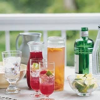 Plum Cocktails.