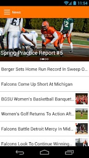 BGSU Athletics - screenshot thumbnail