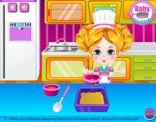 【免費休閒App】Baby Fish Sticks Cooking-APP點子