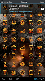 Burning Hell Icons - screenshot thumbnail