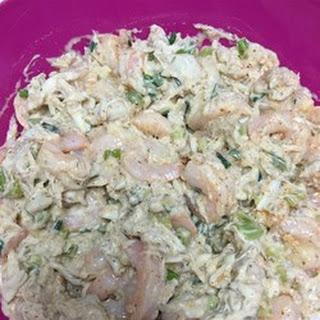 Classic Crab and Shrimp Salad.