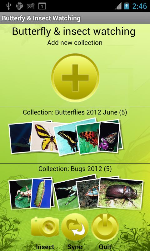 Butterfly & Insect Collector - screenshot