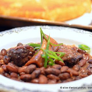 ~bourbon Ham Shank Cranberry Beans~