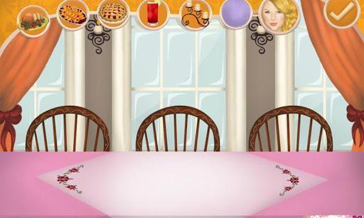 感恩節餐桌裝飾