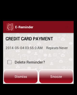 E-Reminder