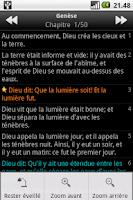 Screenshot of La Sainte Bible, Louis Segond