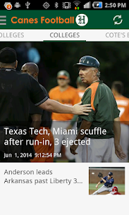 Canes Football - screenshot thumbnail
