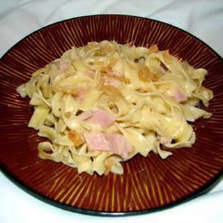 Creamy Ham and Pasta Bake Recipe