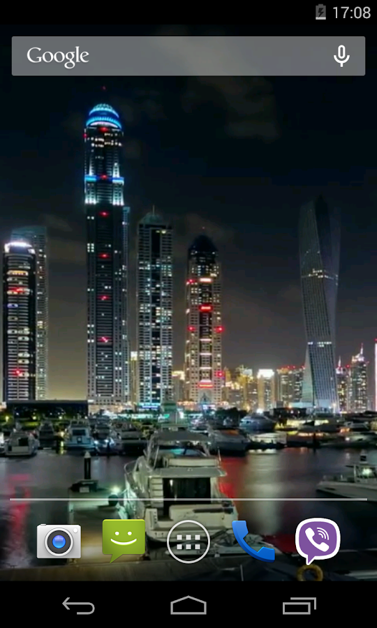 Dubai Video Live Wallpaper - screenshot