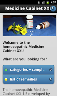 Homeopathy MedicineCabinet XXL- screenshot thumbnail