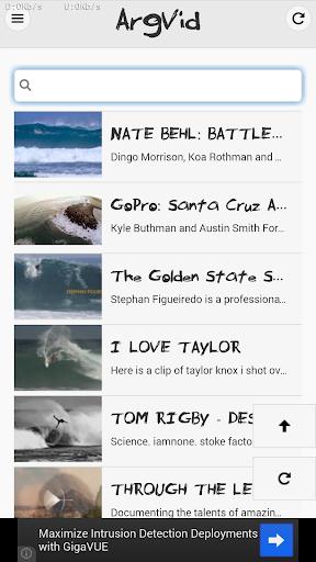 Surf Videos - ArgVid
