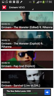 VEVO - Watch Free Music Videos - screenshot thumbnail