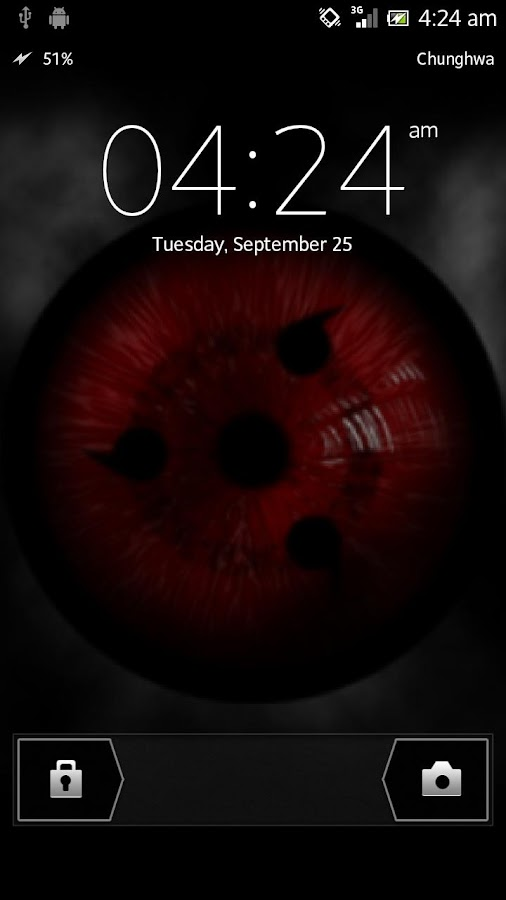 Sharingan Live Wallpaper - screenshot