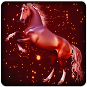 Year of Horse Live Wallpaper