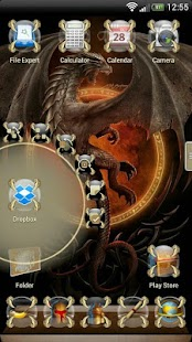 Next Launcher Dragon Theme- screenshot thumbnail