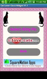 I Luv Cats Widget- screenshot thumbnail