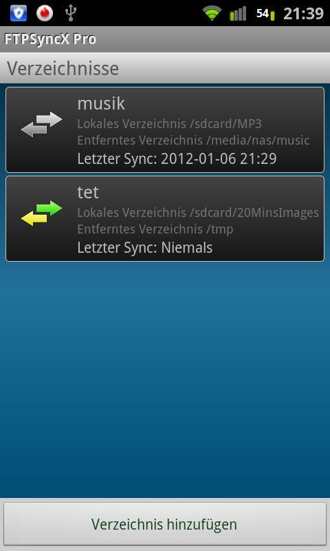 FTPSyncX Pro - screenshot
