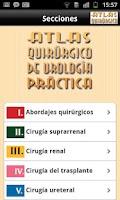 Screenshot of Atlas Quirúrgico de Urología