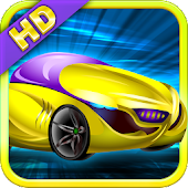 Neon Car Race Blitz F1