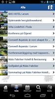 Screenshot of Lerum tourist guide