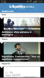 la Repubblica Mobile - screenshot thumbnail