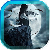 Gothic Moon live wallpaper