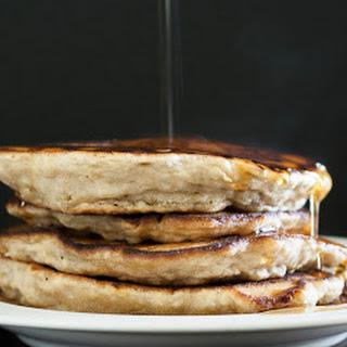 Vegan Banana Pancakes.