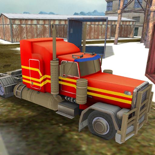 雪卡車司機模擬器 賽車遊戲 App LOGO-APP試玩