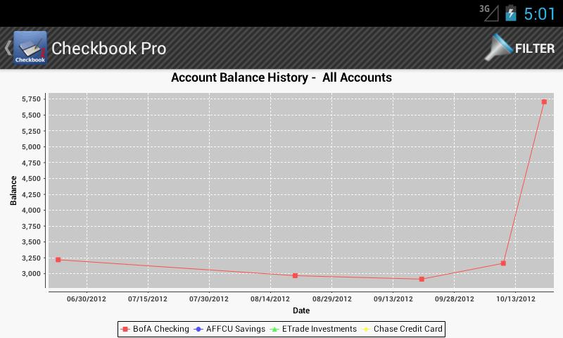 Checkbook Pro - screenshot