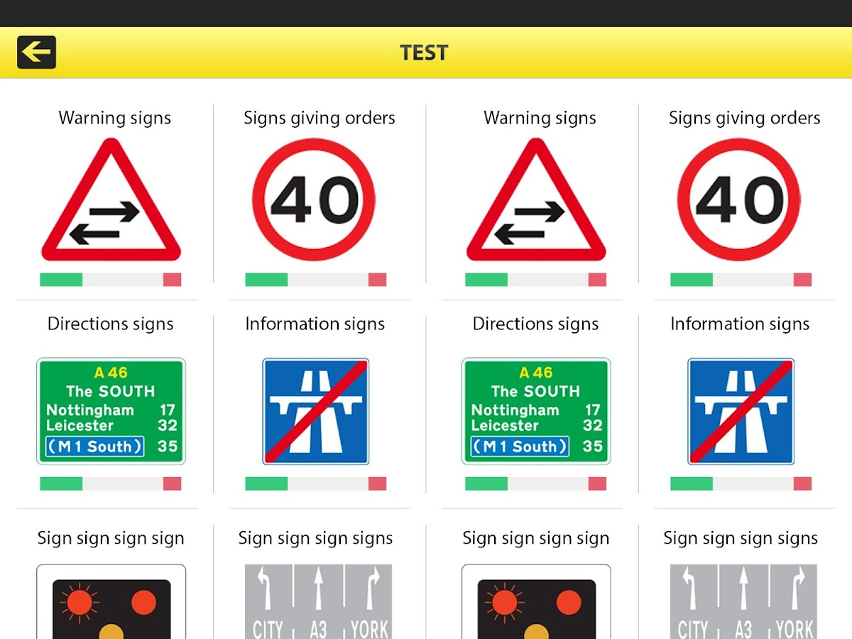 Road Traffic Signs UK- screenshot