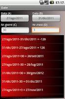 Screenshot of Calcula : The Calculator