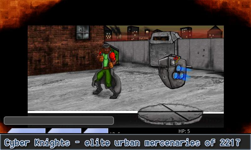 Cyber Knights RPG Elite- screenshot
