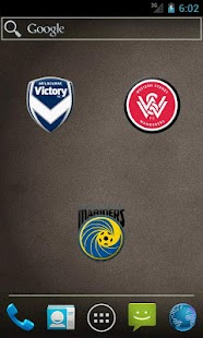 A-League teams emblems - screenshot thumbnail