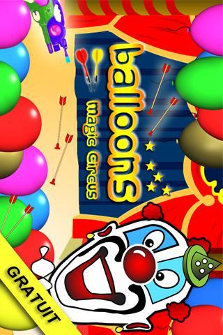 Balloons Magic Circus- screenshot