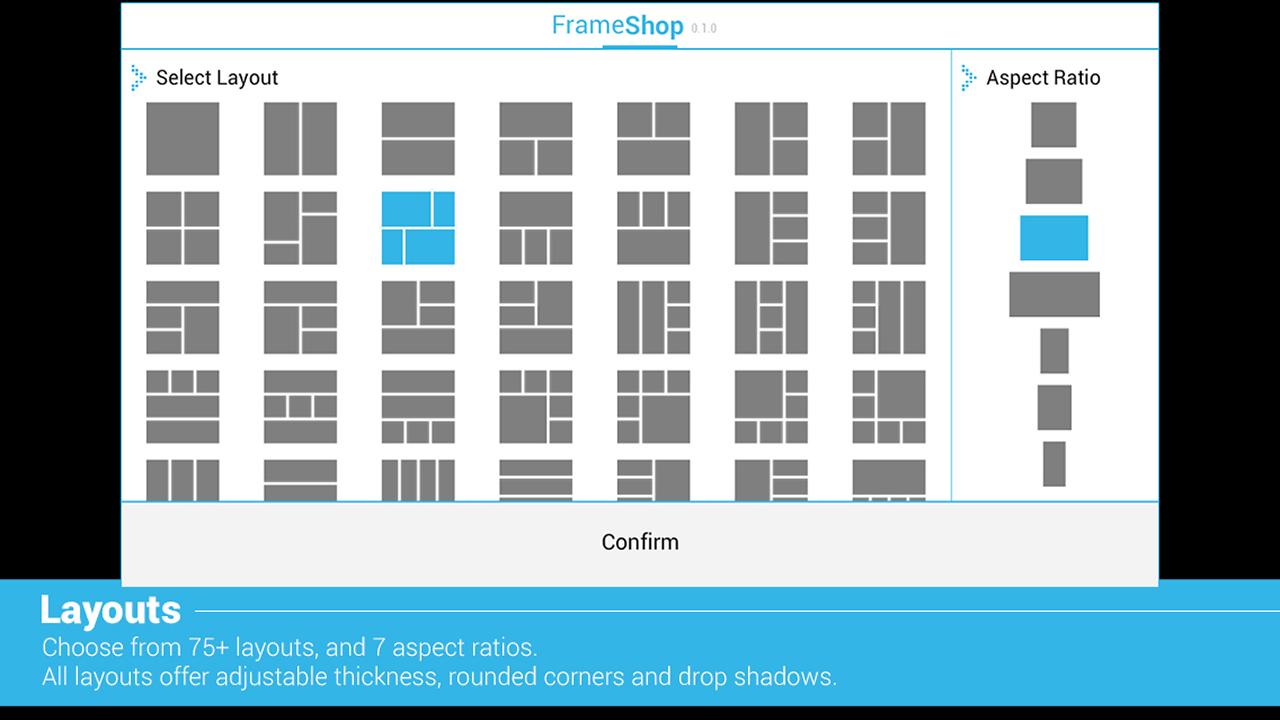 frameshop free frame editor screenshot