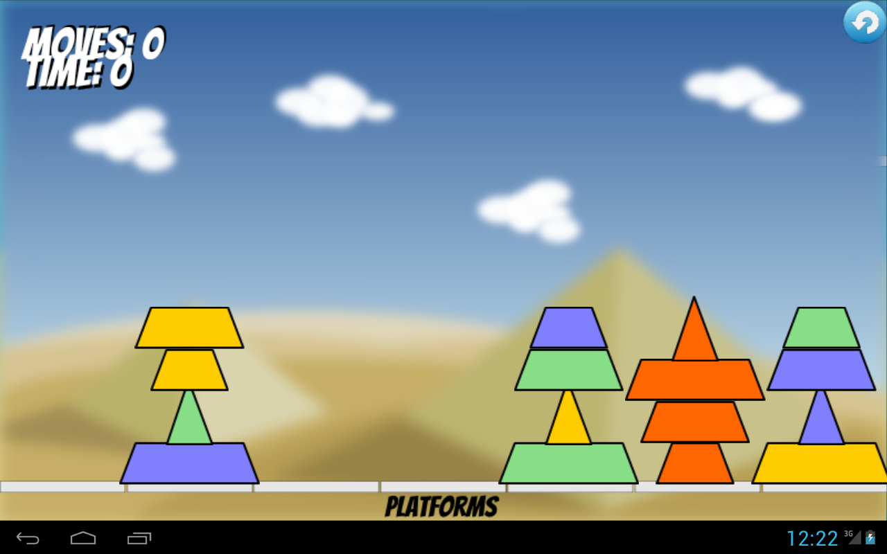 Pyramid Mover - screenshot